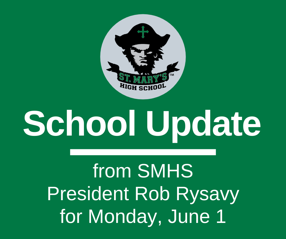 School UPDATE: Monday, June 1