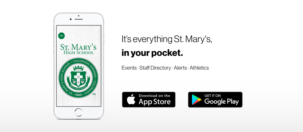 App...It's Everything St. Mary's, in Your Pocket