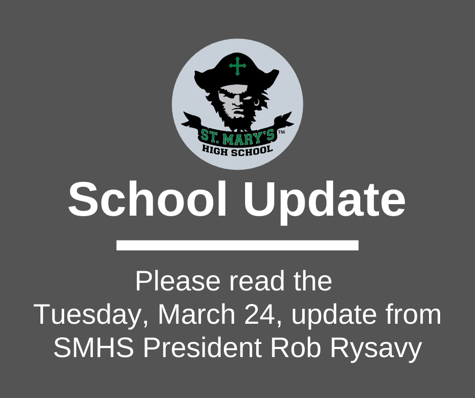 School UPDATE: Tuesday, March 24