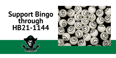 ​Support Bingo by Supporting Colorado State Legislation HB21-1144.