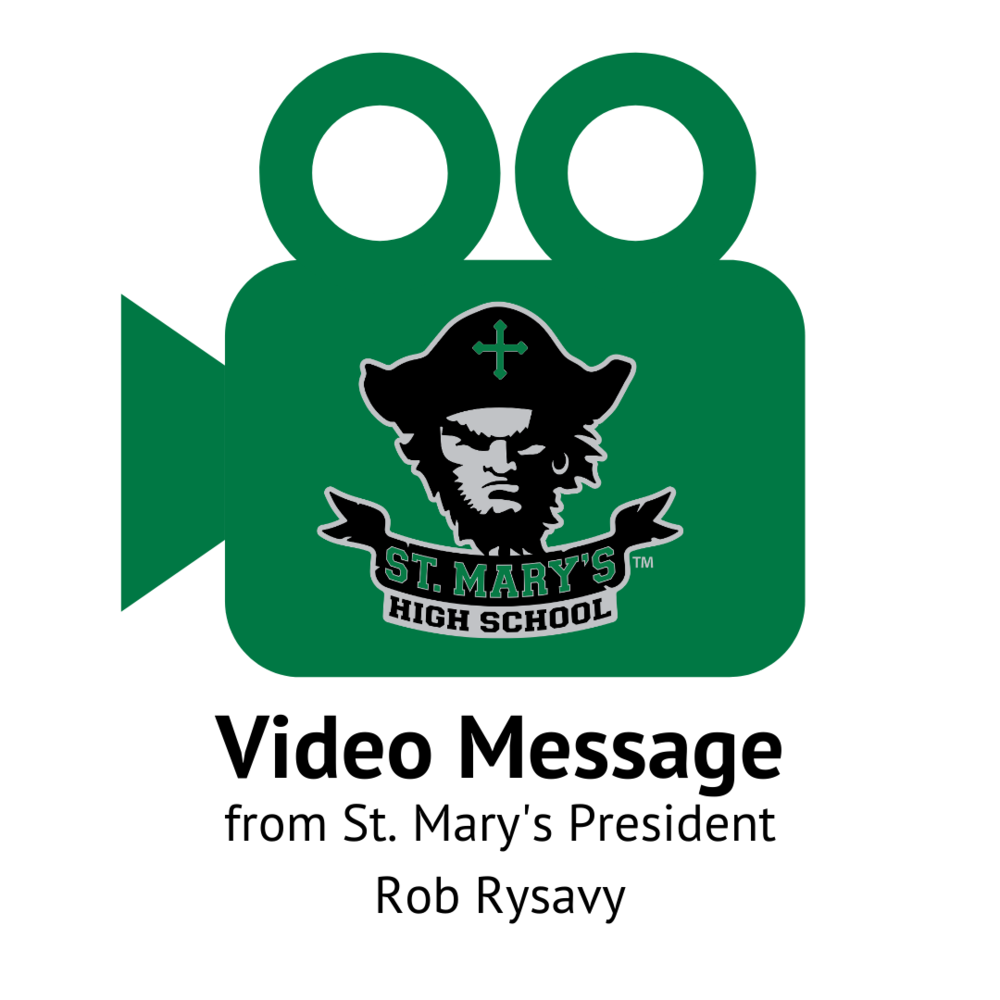 Mr. Rysavy's Special Message to Students