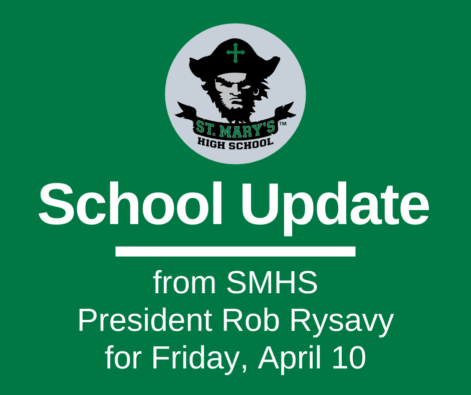 School UPDATE: Friday, April 10