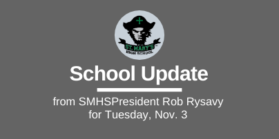 School UPDATES: Tuesday, Nov. 3
