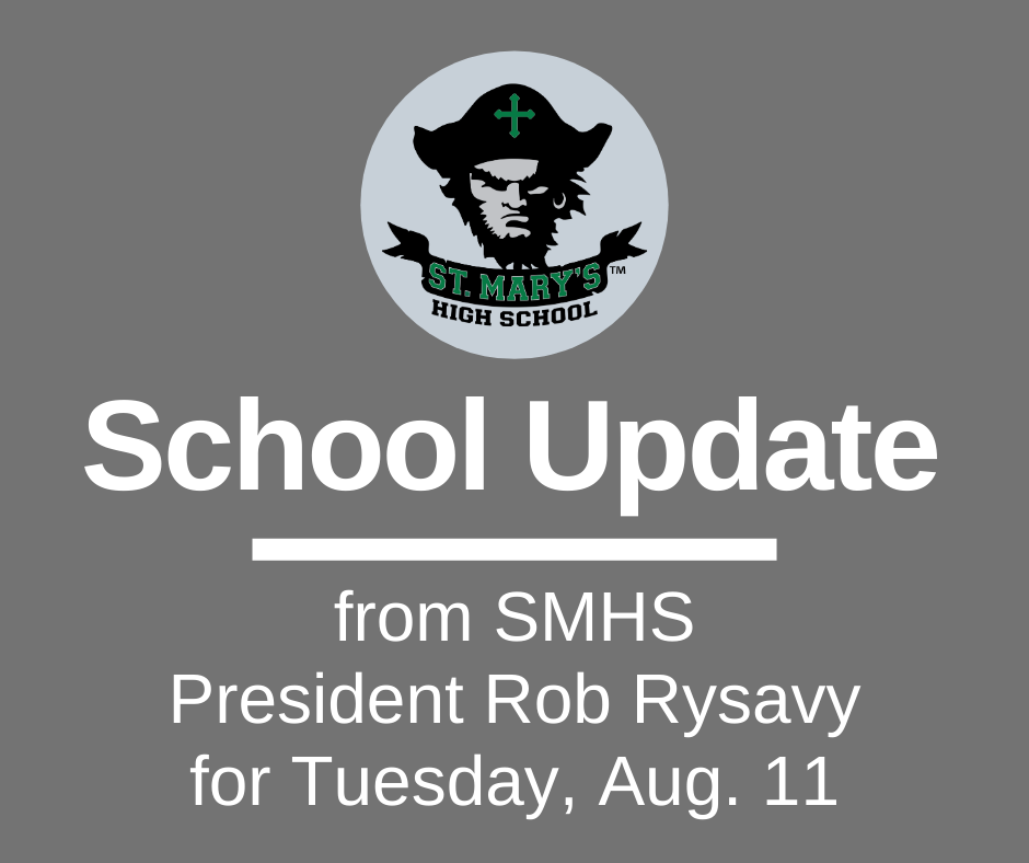 School UPDATE: Tuesday, Aug. 11