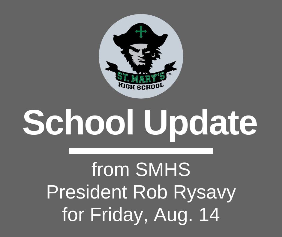 School UPDATE: Friday, Aug. 14