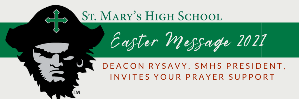 Easter Message 2021: President Rob Rysavy
