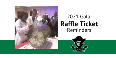 Gala Raffle Ticket Reminder
