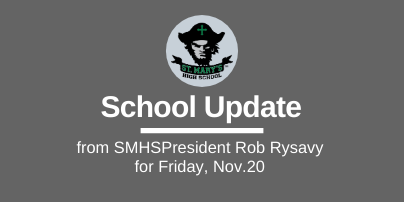 School UPDATE: Friday, Nov. 20