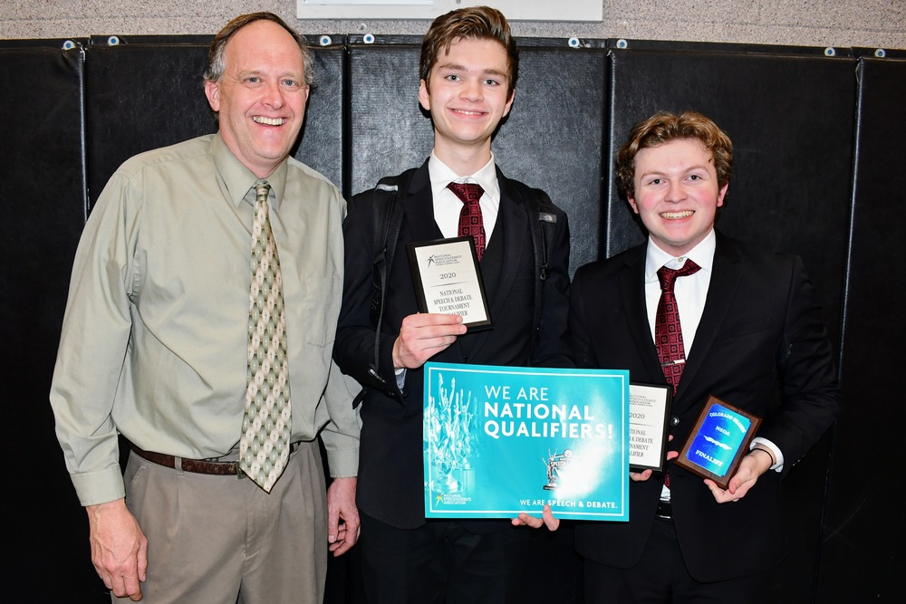 Bodnar, Zill Finish Top 60 at Speech Nationals