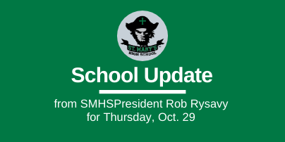 School UPDATE: Thursday, Oct. 29