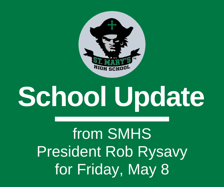 School UPDATE: Friday, May 8