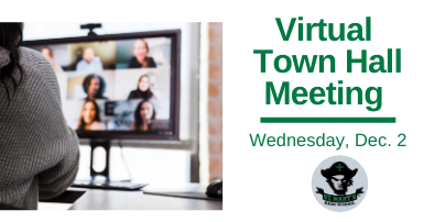 WATCH NOW: Virtual Town Hall, Dec. 2