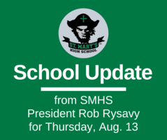 School UPDATE: Thursday, Aug. 13