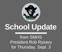 School UPDATE: Thursday, Sept. 4