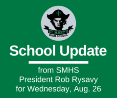 School UPDATE: Wednesday, Aug. 26