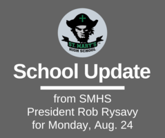 School UPDATE: Monday, Aug. 24