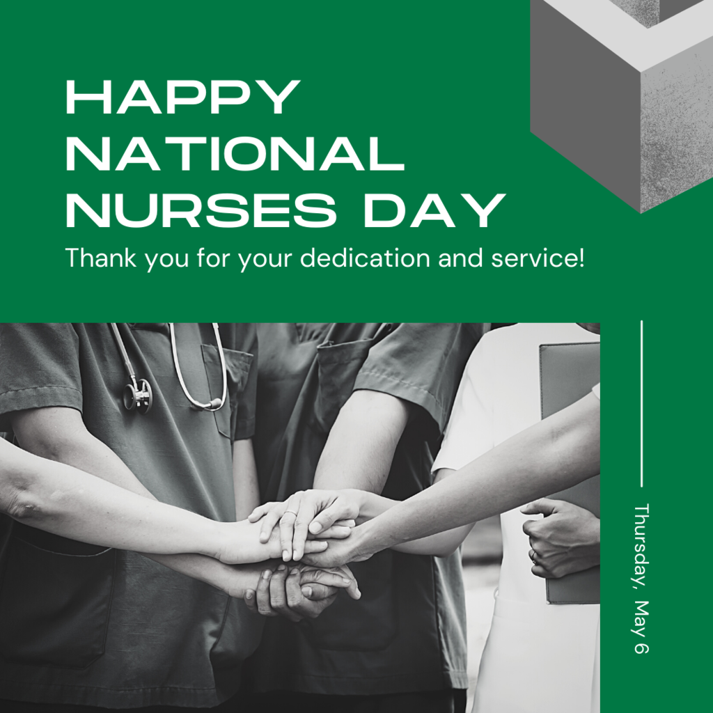 nurses with hands together