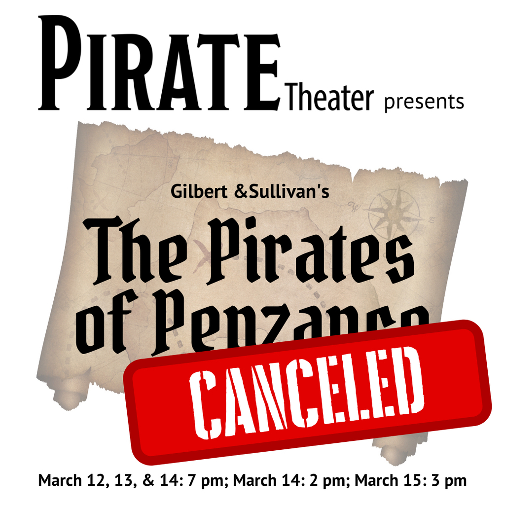 Musical poster with canceled added